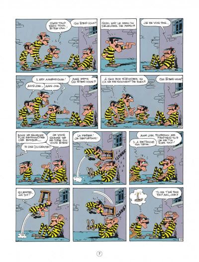 Page 7 lucky luke ; l'amnésie des dalton