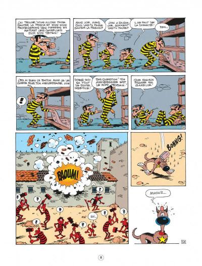 Page 8 lucky luke ; l'amnésie des dalton