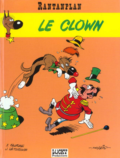 Couverture rantanplan tome 4 - le clown