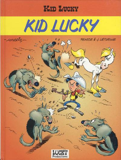 Couverture Kid Lucky tome 1