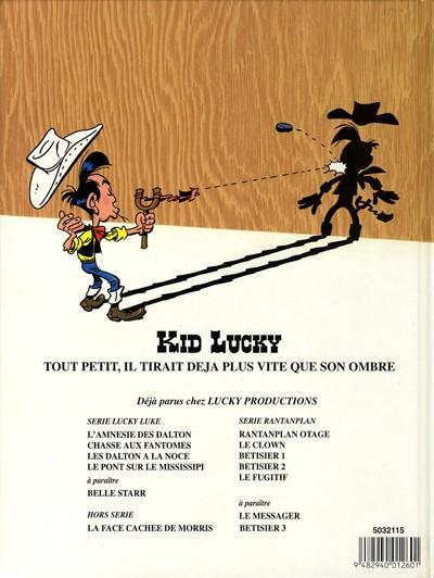 Dos Kid Lucky tome 1