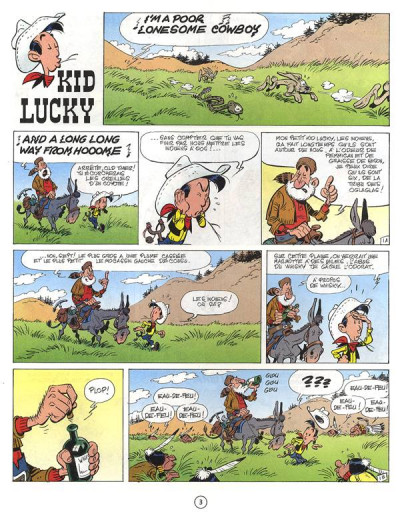 Page 1 Kid Lucky tome 1