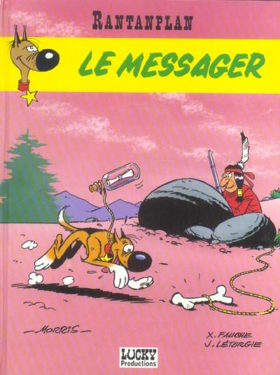 Couverture rantanplan tome 9 - le messager