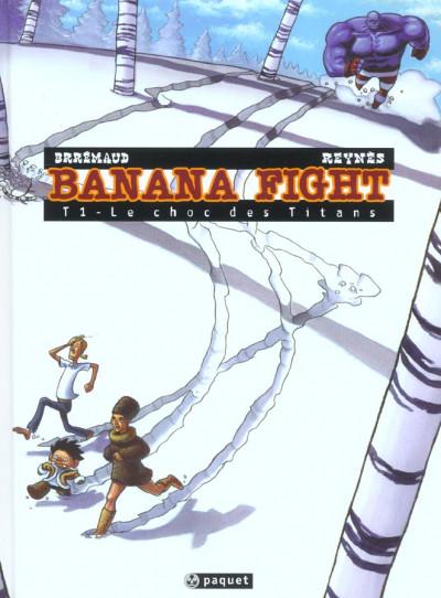 image de Banana fight tome 1 - le choc des titans