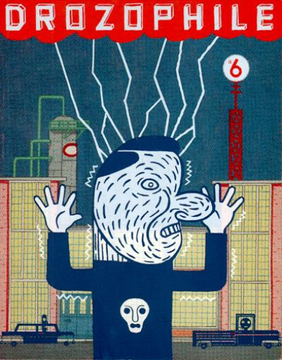 Couverture drozophile tome 6 - la rue, la vie