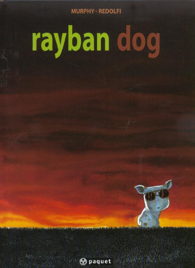 Couverture rayban dog