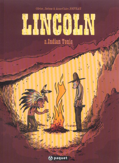 Couverture lincoln tome 2 - indian tonic
