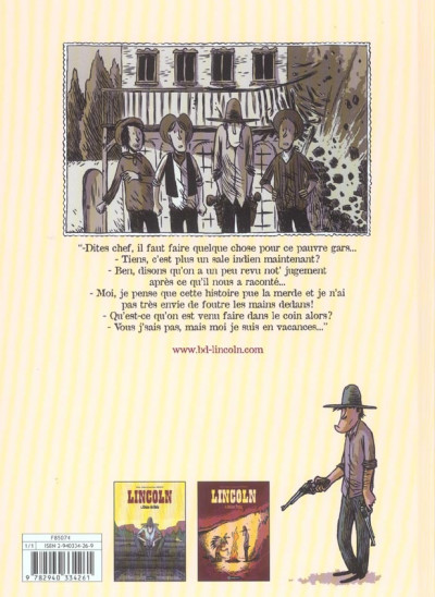 Dos lincoln tome 2 - indian tonic