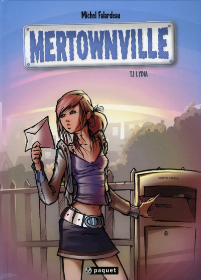 Couverture mertownville tome 1 - lydia