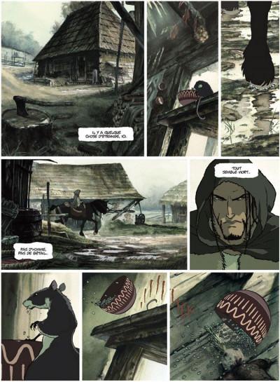 Page 2 La chronique des immortels tome 1