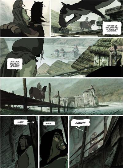 Page 3 La chronique des immortels tome 1