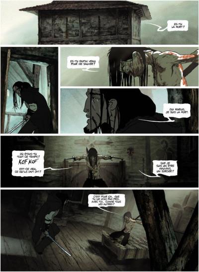 Page 4 La chronique des immortels tome 1