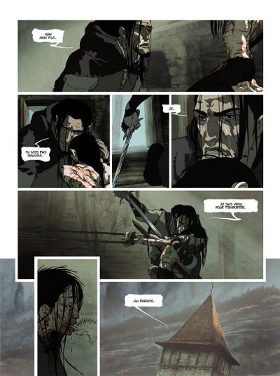 Page 5 La chronique des immortels tome 1