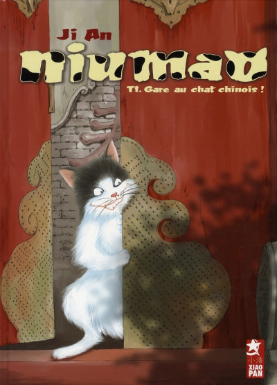 Couverture niumao tome 1 - gare au chat chinois