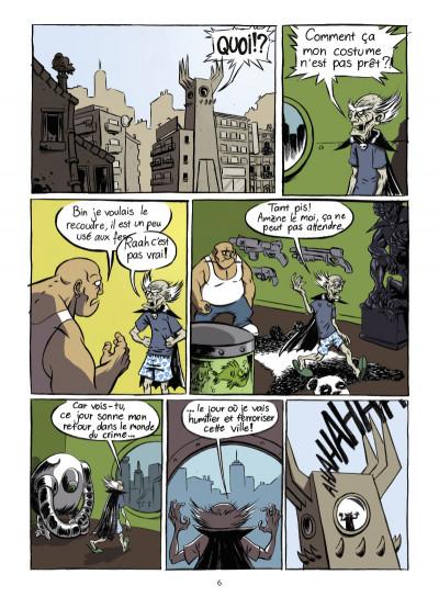Page 1 super héros... ou pas