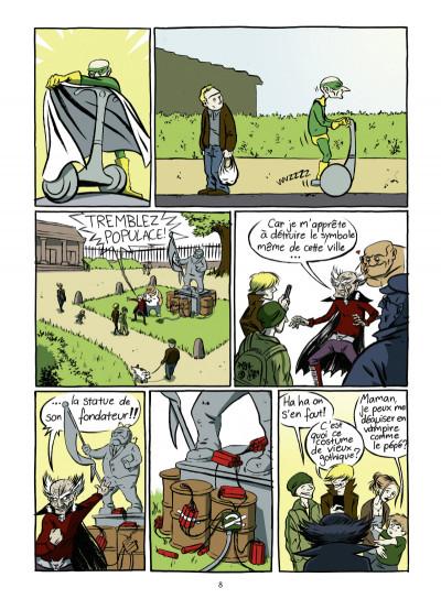Page 3 super héros... ou pas