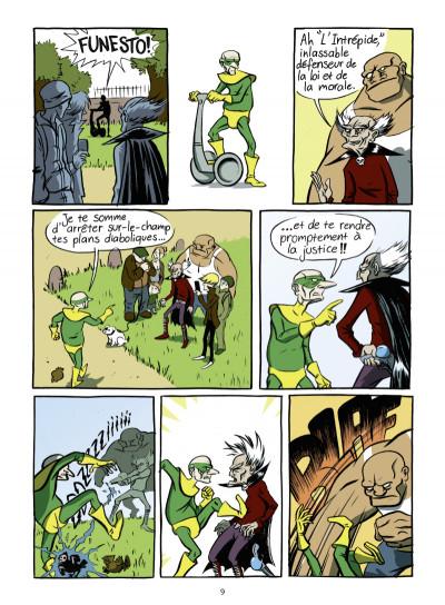 Page 4 super héros... ou pas
