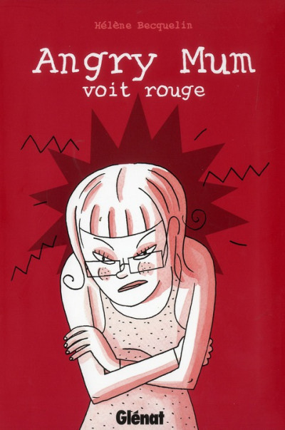 Couverture angry mum tome 2 - angry mum voit rouge
