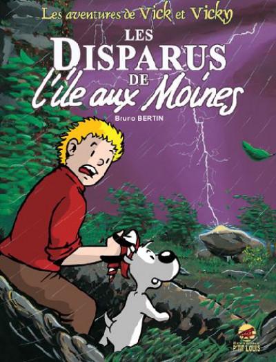 image de les aventures de vick et vicky tome 3 - les disparus de l'île aux moines
