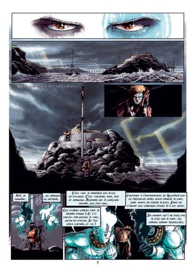 Page 3 Cùchulainn, Trois corneilles