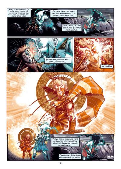 Page 4 Cùchulainn, Trois corneilles