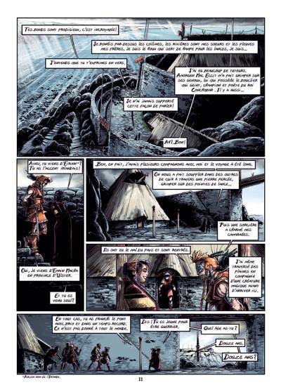 Page 7 Cùchulainn, Trois corneilles