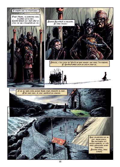 Page 8 Cùchulainn, Trois corneilles