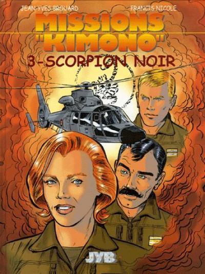 image de missions kimono tome 3 - scorpion noir