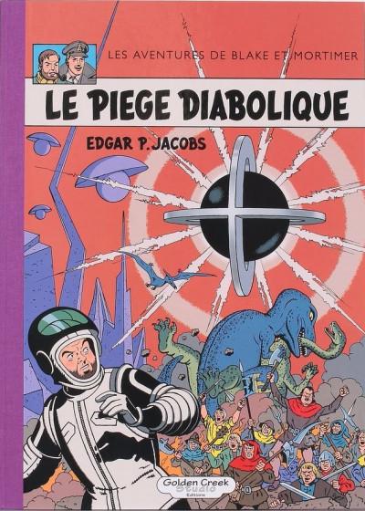 Couverture Blake et Mortimer - tirage de luxe tome 9 - Le Piège diabolique