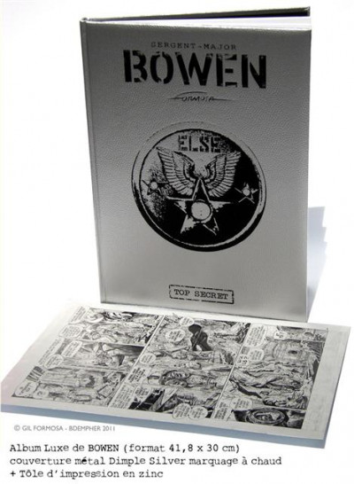 Bowen tome 1 - Tirage de tête - L'homme le plus haut