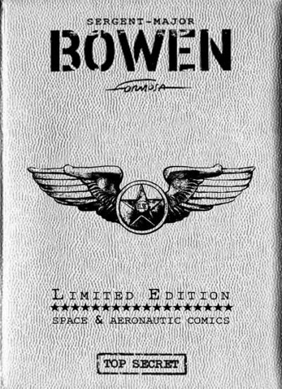 Couverture Bowen tome 2 - Tirage de tête - l'homme d'overground 9