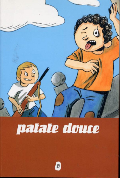 Couverture patate douce tome 6