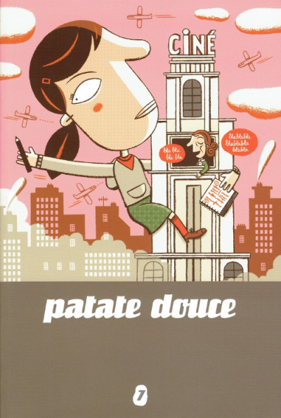 Couverture patate douce tome 7