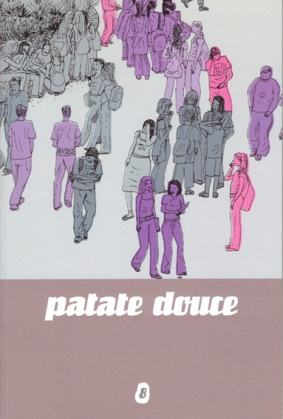 Couverture patate douce tome 8
