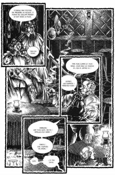 Page 1 Starchild tome 2 - éveils