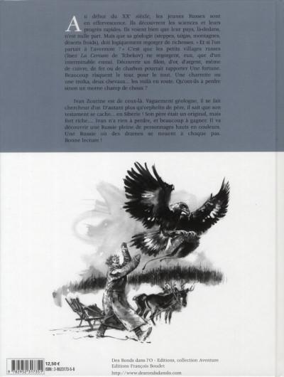 Dos ivan zourine tome 1 - le testament de sibérie