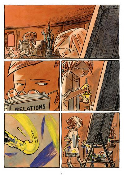 Page 1 petite souris, grosse bêtise