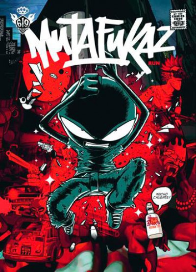 Couverture mutafukaz tome 1 - dark meat city