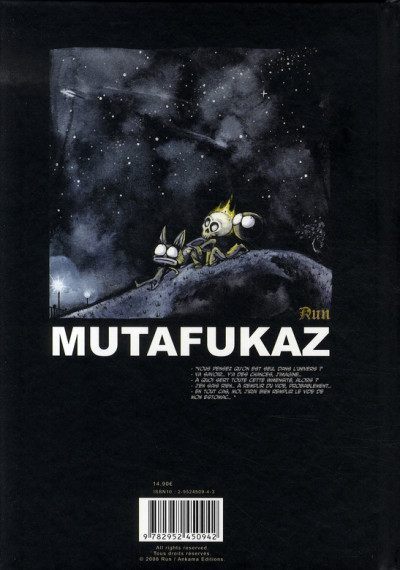 Dos mutafukaz tome 1 - dark meat city