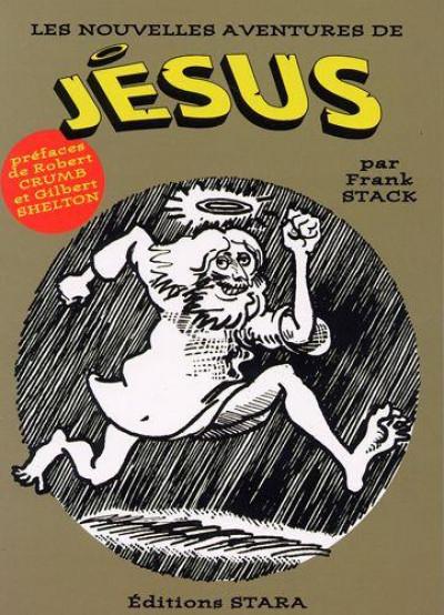 Couverture les nouvelles aventures de jésus