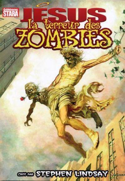 Couverture jésus, la terreur des zombies