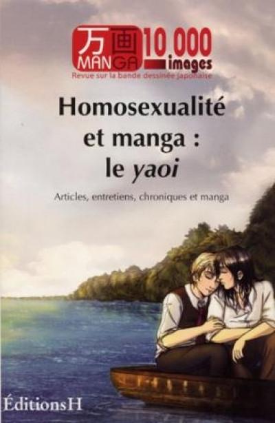 Couverture manga 10 000 images tome 1 - homosexualité et manga : le yaoi