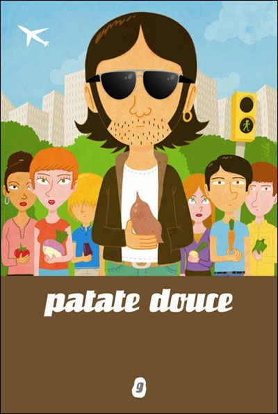 Couverture patate douce tome 9