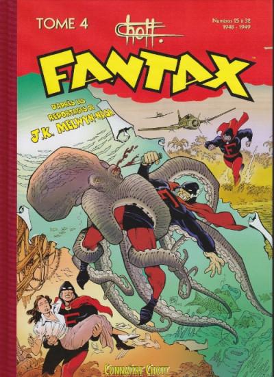 Couverture Fantax intégrale tome 4