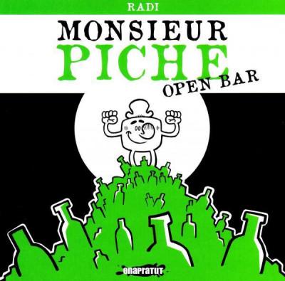 Couverture monsieur piche ; open bar