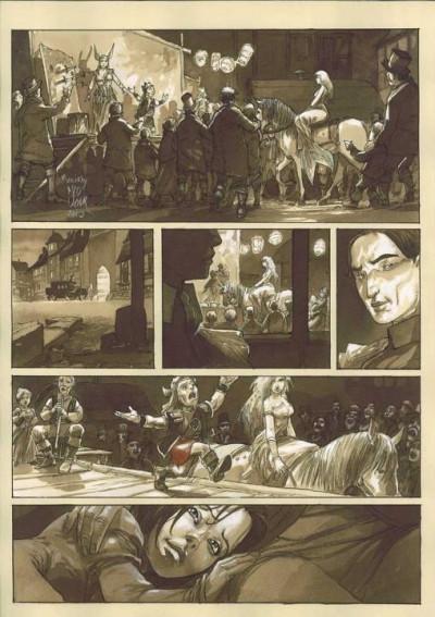 Page 1 À l'origine des contes - Blanche Neige - tirage de tête