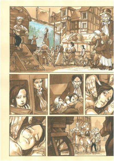 Page 3 À l'origine des contes - Blanche Neige - tirage de tête