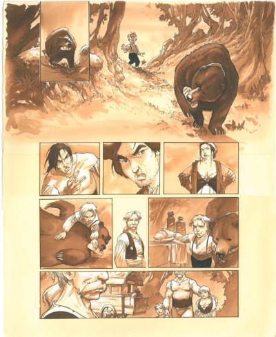 Page 4 À l'origine des contes - Blanche Neige - tirage de tête