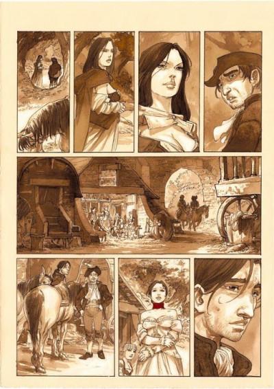 Page 9 À l'origine des contes - Blanche Neige - tirage de tête