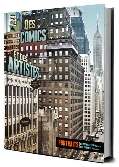 Couverture des comics et des artistes